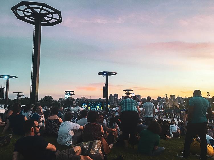 Parc Jean-Drapeau pendant Québec en fête - PVT Canada : Arrivée et installation à Montréal - Blog Voyage Ma Folie Vagabonde