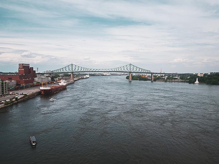 Pont Jacques-Cartier - PVT Canada : Arrivée et installation à Montréal - Blog Voyage Ma Folie Vagabonde