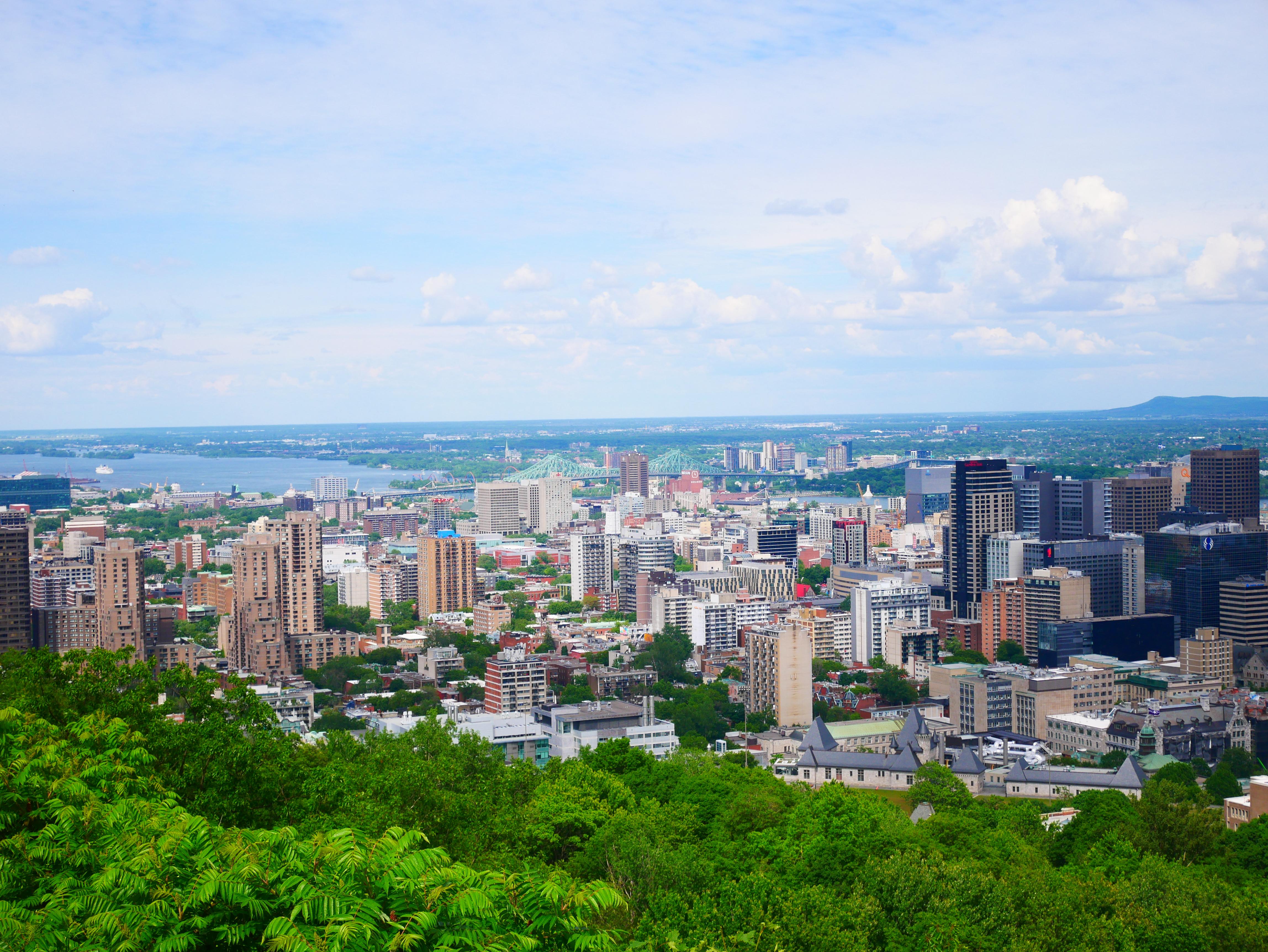 Belvédère Kondiaronk du Parc Montroyal à Montréal - Roadtrip au Québec, Canada - Blog Voyage Ma Folie Vagabonde