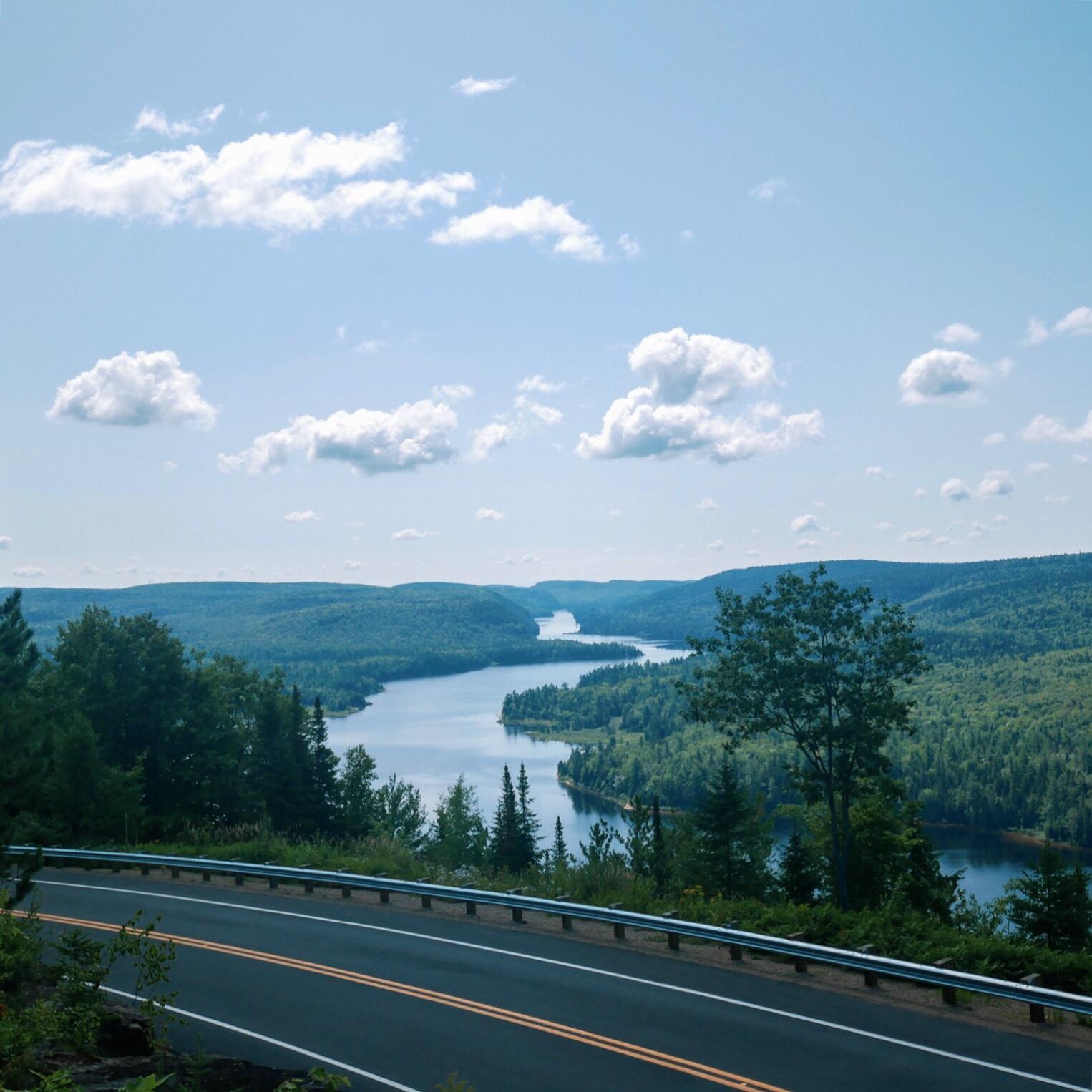 Belvédère du Passage au Parc Mont-tremblant - Roadtrip au Québec, Canada - Blog Voyage Ma Folie Vagabonde