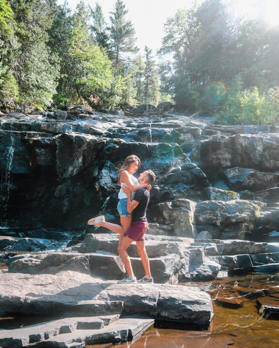 Les chutes Waber au Québec - Roadtrip au Québec, Canada - Blog Voyage Ma Folie Vagabonde