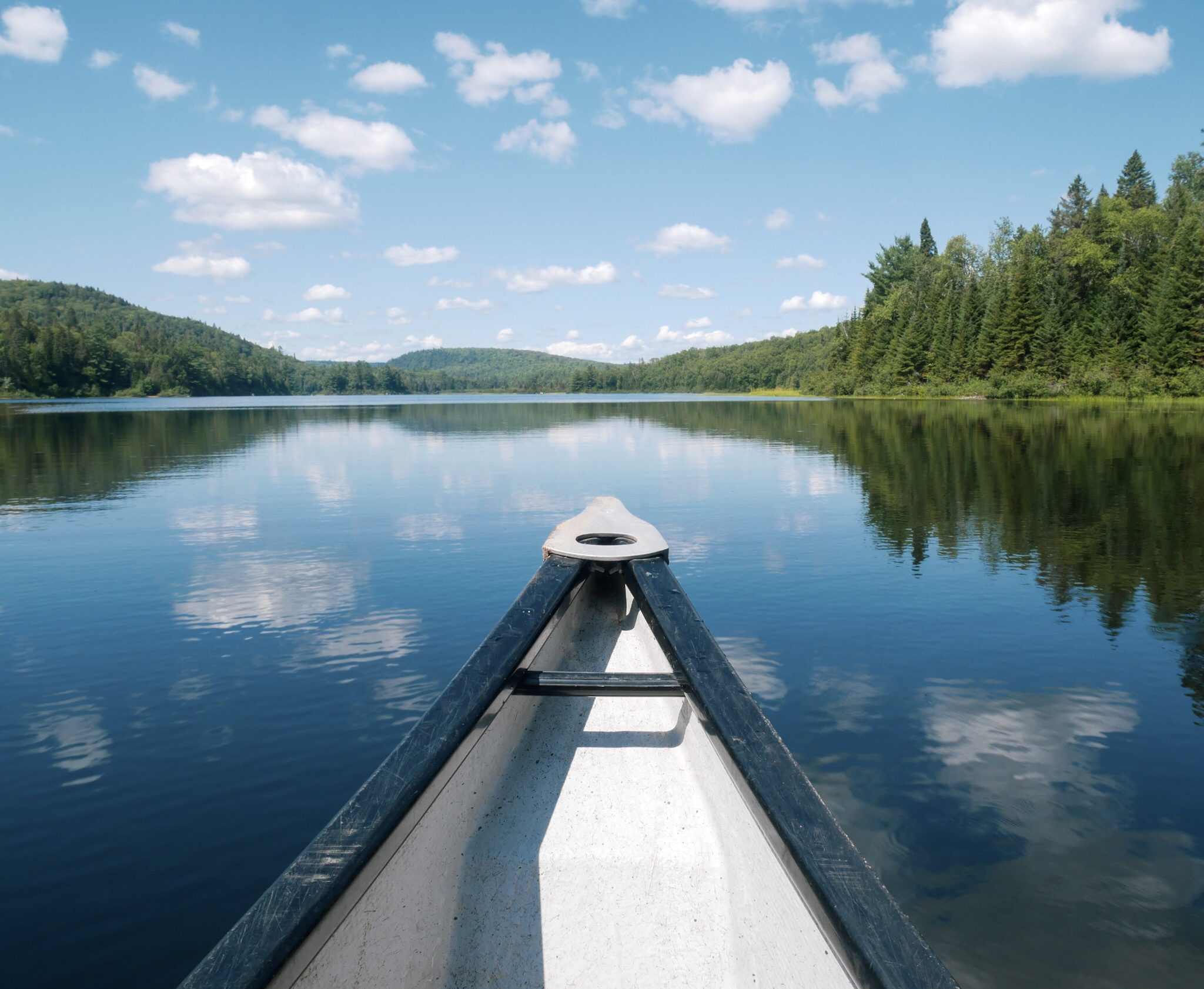 Lac Waziponge au Parc de la Mauricie Québec Canada - Roadtrip au Québec, CanadaMa Folie Vagabonde Blog Voyage
