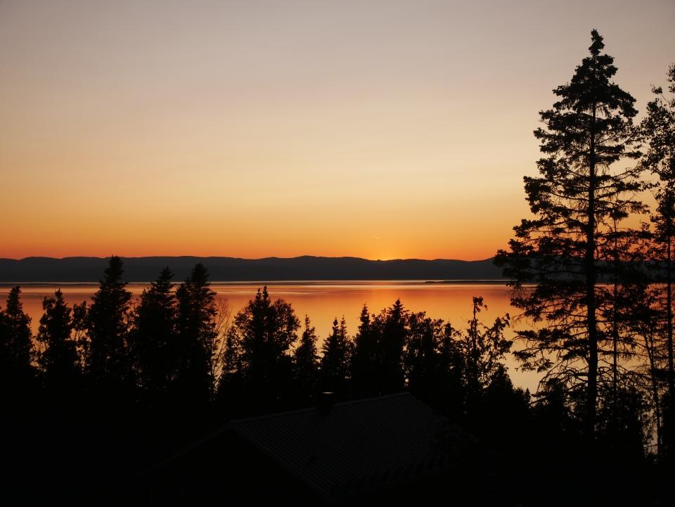 Coucher de soleil à Rivière-du-Loup - Roadtrip au Québec, Canada - Blog Voyage Ma Folie Vagabonde