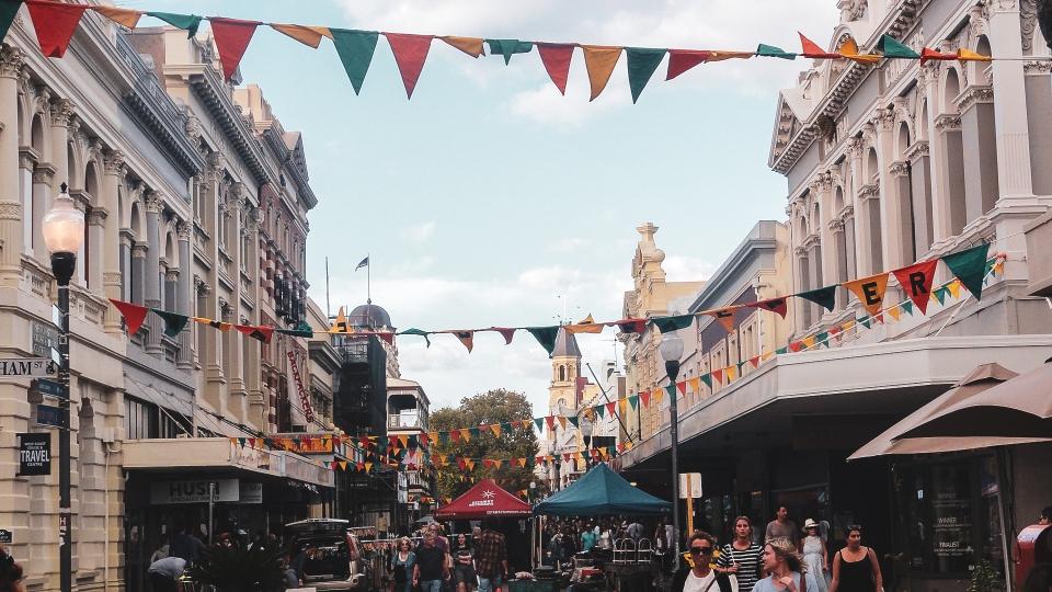 Centre-ville de Fremantle - PVT Australie : de Perth à Darwin - Blog Voyage Ma Folie Vagabonde
