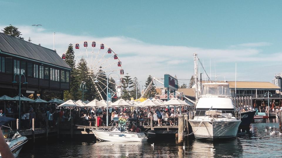 Port de Fremantle - PVT Australie : de Perth à Darwin - Blog Voyage Ma Folie Vagabonde