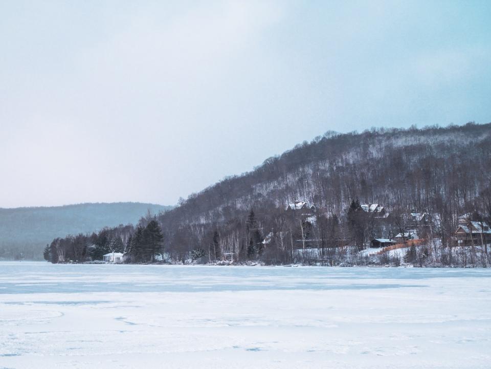 Lac Mont-Tremblant - L'Hiver à Montréal, Canada - Blog Voyage Ma Folie Vagabonde