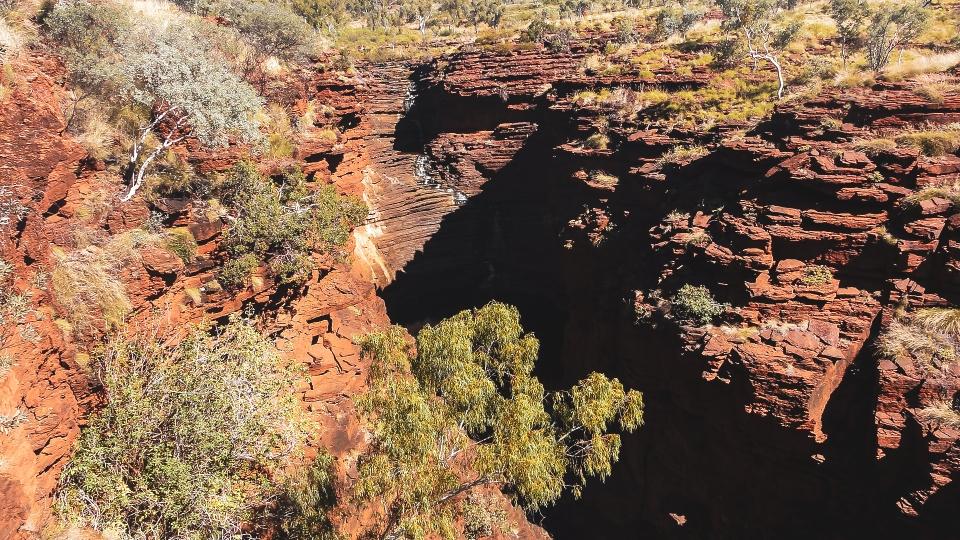 Weano Gorge, Karijini Park - PVT Australie : de Perth à Darwin - Blog Voyage Ma Folie Vagabonde