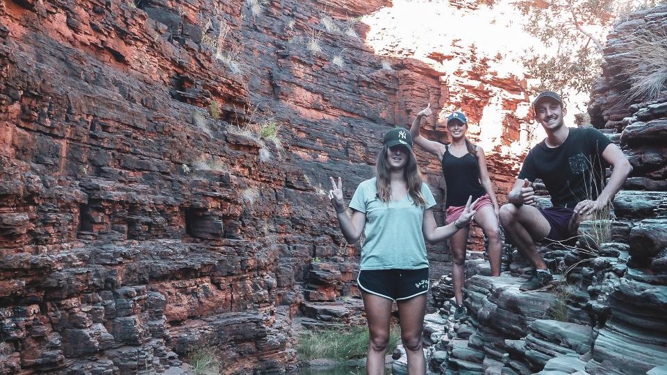 Hancock gorge, Karijini Park - PVT Australie : de Perth à Darwin - Blog Voyage Ma Folie Vagabonde