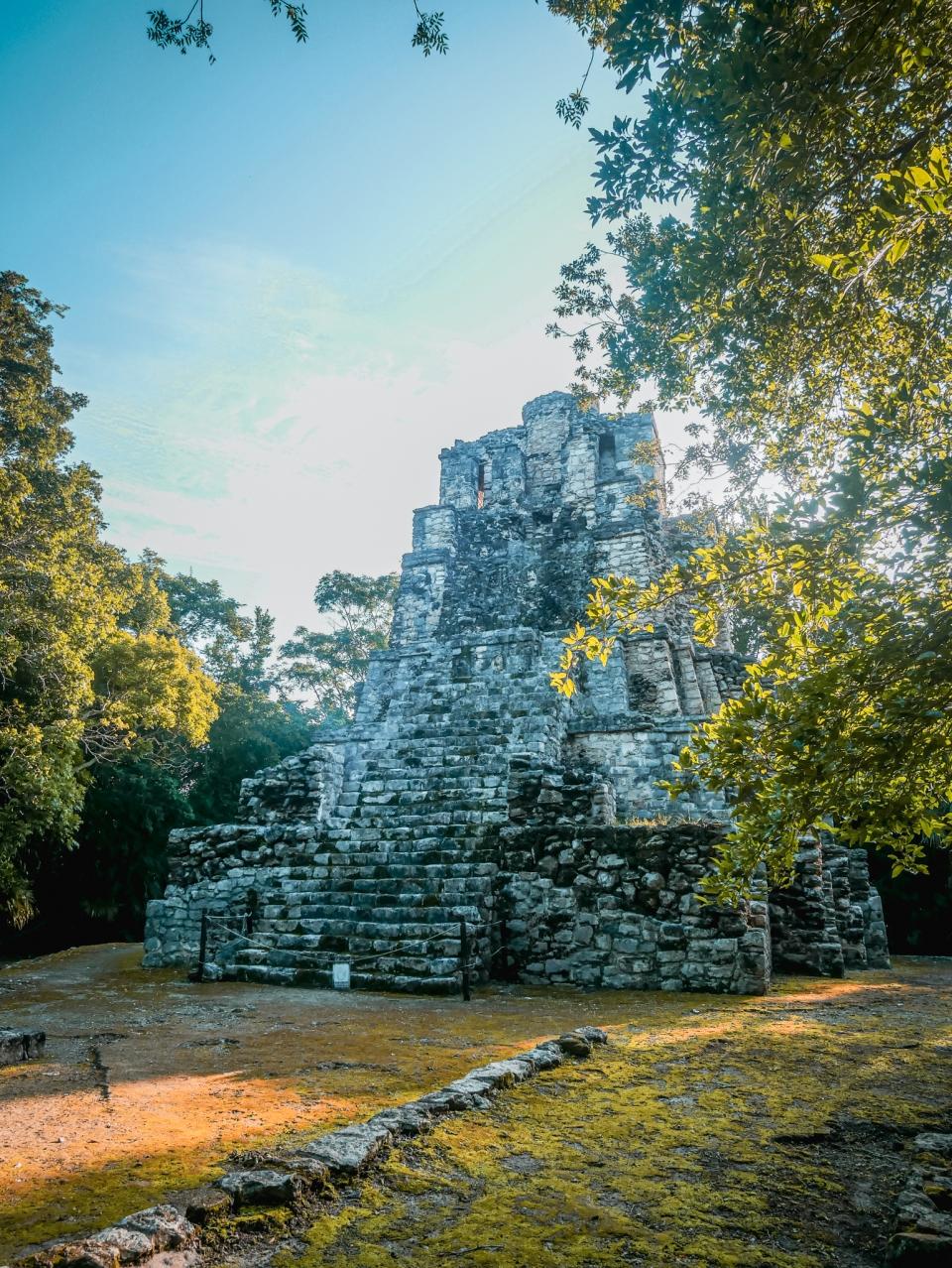 Ruines de Muyil - Roadtrip 10 jours au Mexique - Blog Voyage Ma Folie Vagabonde