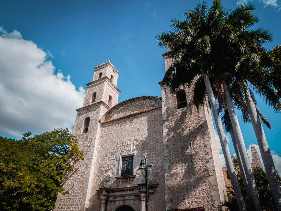 Cathédrale de Merida - Roadtrip 10 jours au Mexique - Blog Voyage Ma Folie Vagabonde