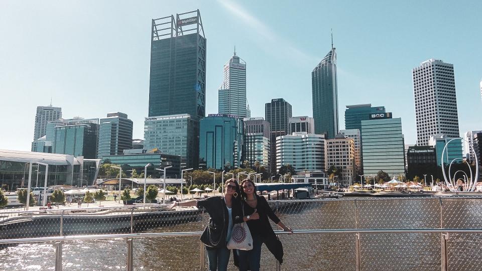 Elizabeth bridge, Perth - PVT Australie : De Perth à Darwin - Blog Voyage Ma Folie Vagabonde